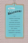 What Is a Brother Birthday Card